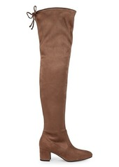Stuart Weitzman Genna Over-The-Knee Faux Suede Boots