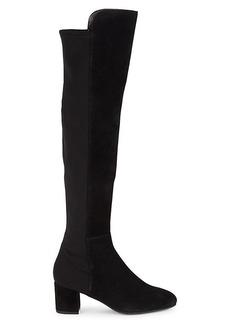 Stuart Weitzman Gillian Suede Knee-High Boots