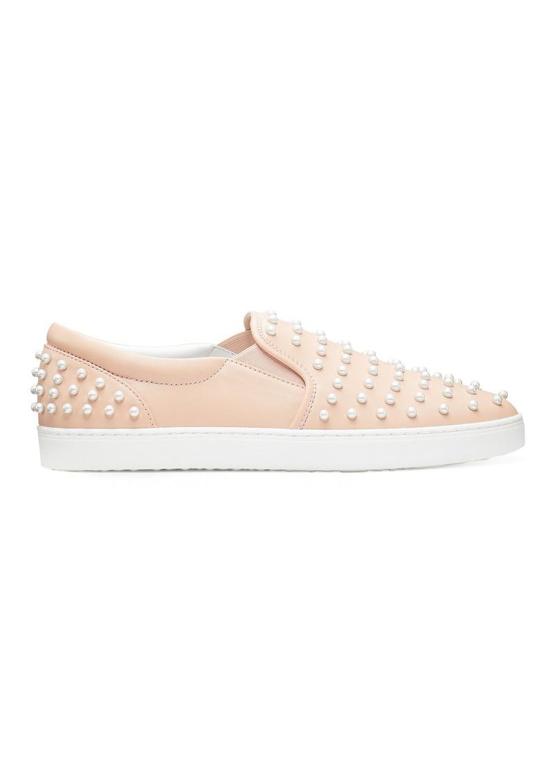 Stuart Weitzman Goldie Slip-On Sneakers