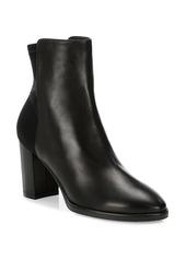 Stuart Weitzman Harper Leather Sock Boots