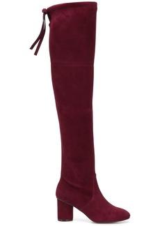 Stuart Weitzman Helena Cabernet boots