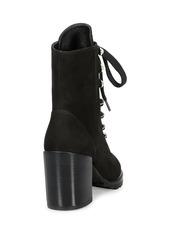 Stuart Weitzman Ivey Suede Combat Boots