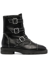 Stuart Weitzman Jesse Lift studded boots
