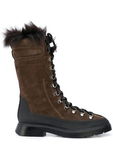 Stuart Weitzman Jessie lace-up boots