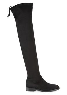 Stuart Weitzman Jocey Over-The-Knee Faux Suede Boots