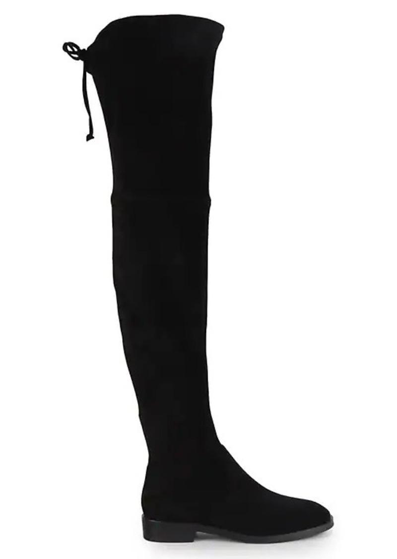 Stuart Weitzman Jocey Suede Over-The-Knee Boots