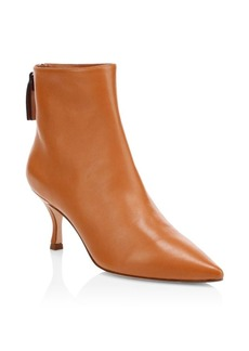Stuart Weitzman Juniper Stiletto Heel Leather Booties