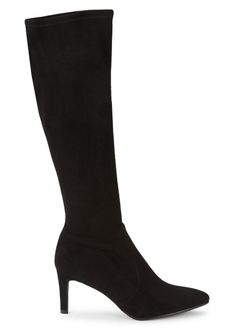 Stuart Weitzman Knee-High Slip-On Boots