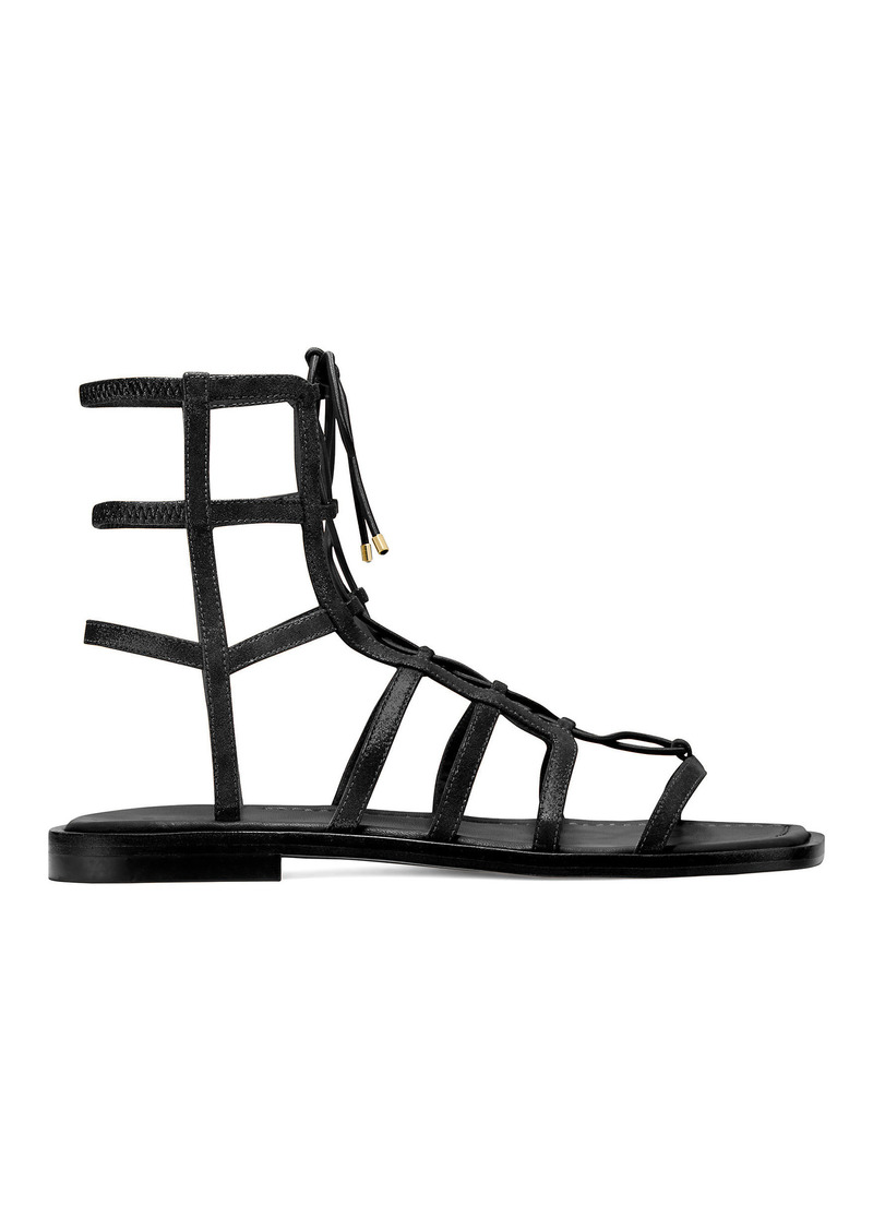 Stuart Weitzman Kora Lace-Up Sandals