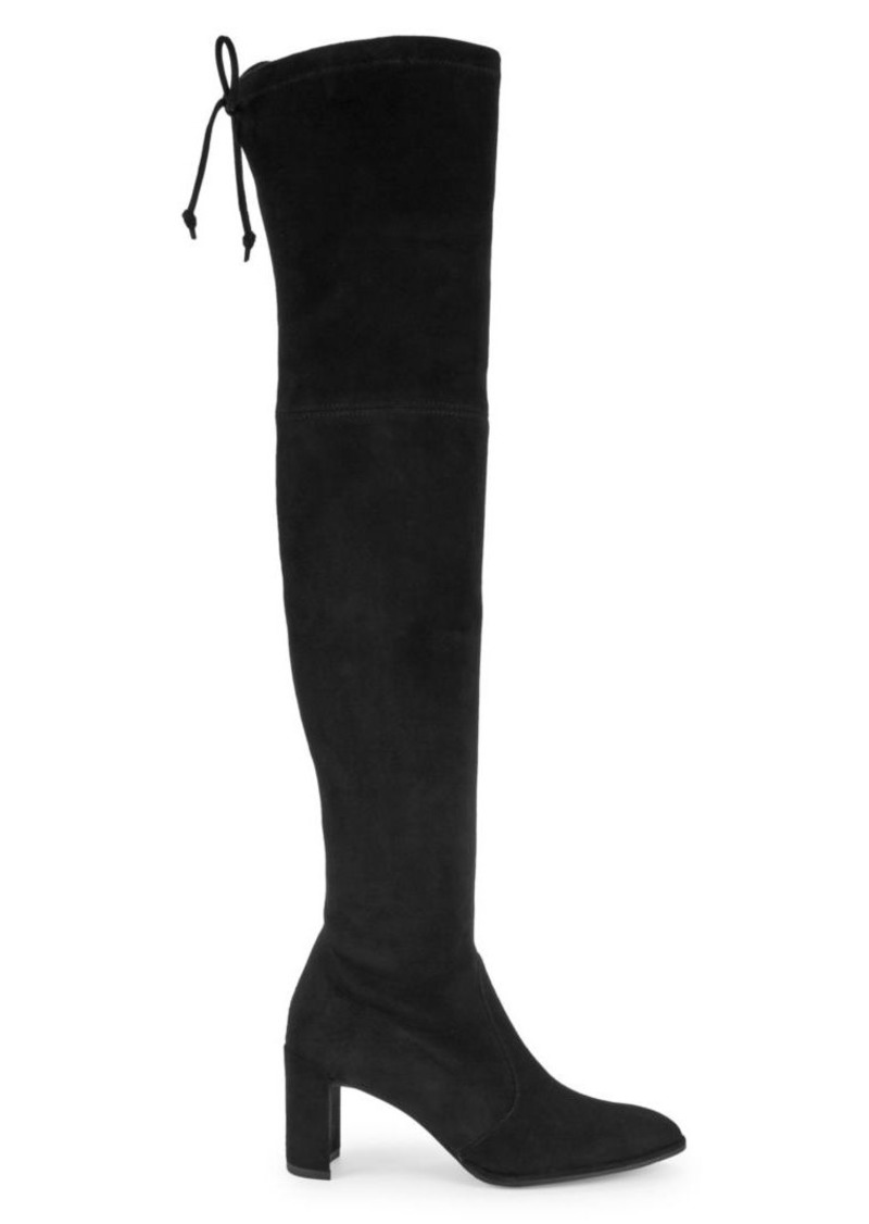 Landmark Over-the-Knee Suede Boots
