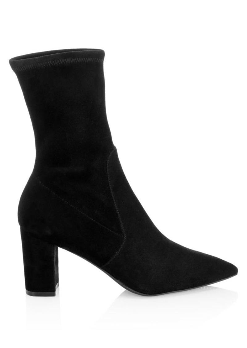 Stuart Weitzman Landry Suede Sock Boots