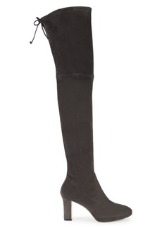 Stuart Weitzman Ledyland Over-The-Knee Suede Boots