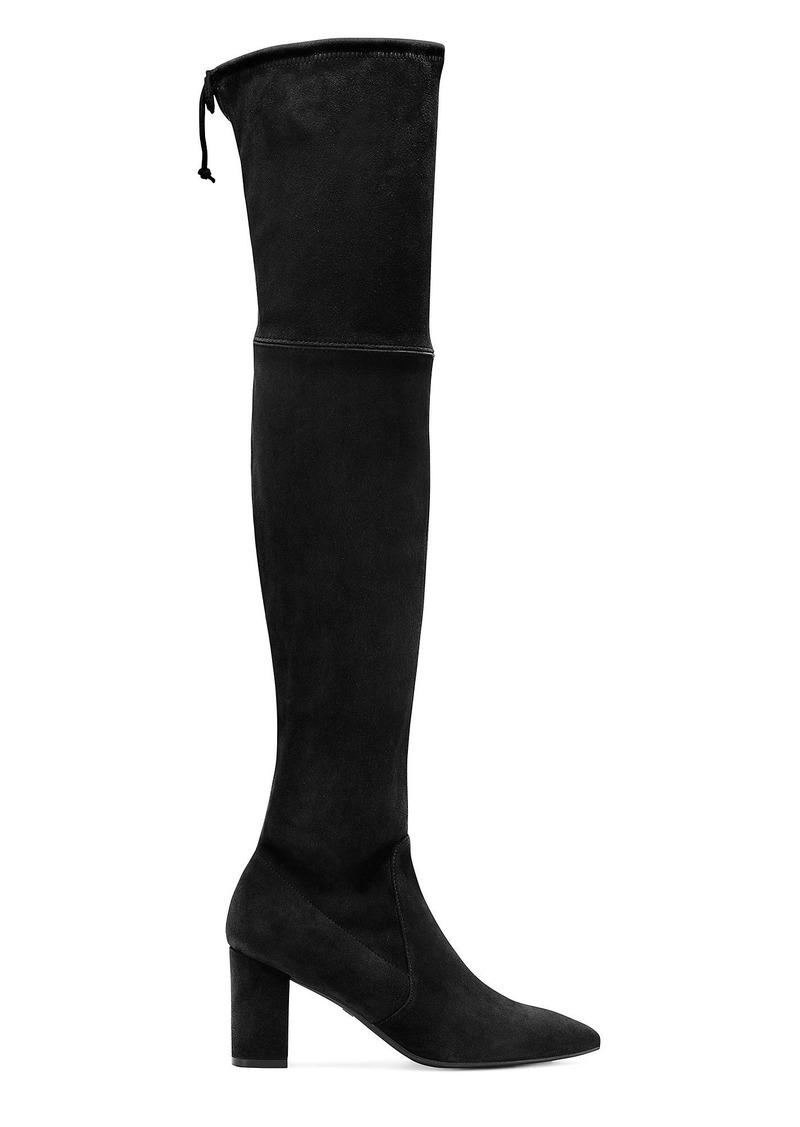 Stuart Weitzman Lesley 75 Over-The-Knee Boots