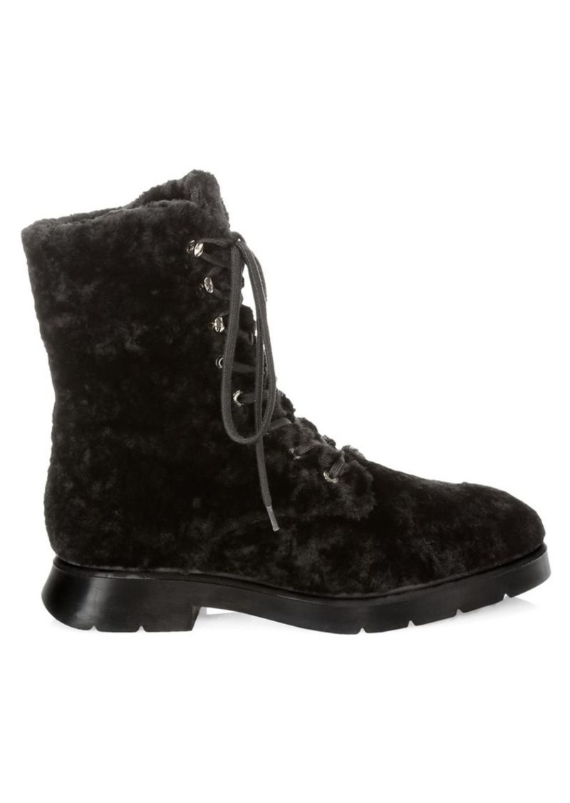 Stuart Weitzman McKenzee Chill Shearling & Leather Boots