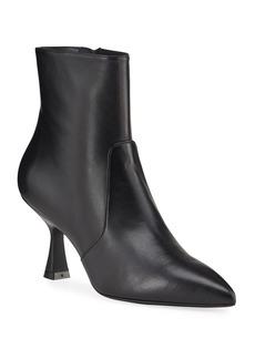 Stuart Weitzman Melena Sleek Pedestal Ankle Booties