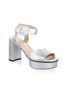 Stuart Weitzman New Deal Leather Sandals