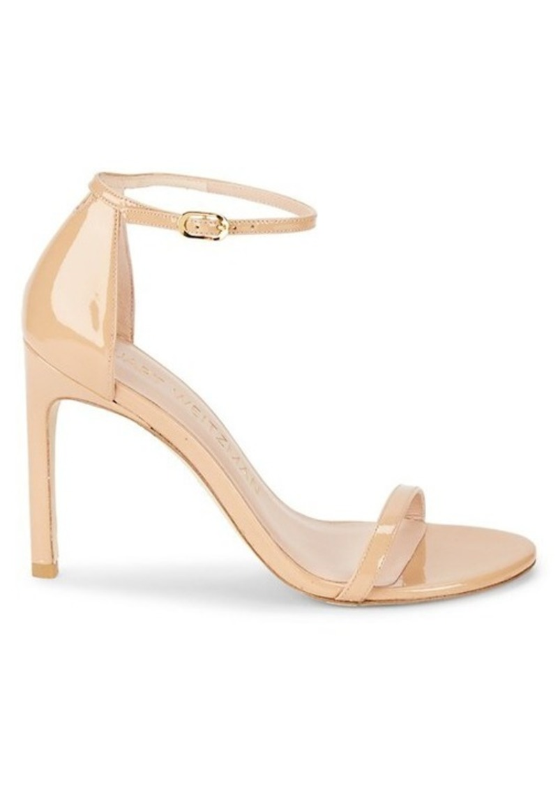 Stuart Weitzman Nudistsong Leather Heeled Sandals