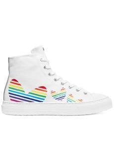 Stuart Weitzman Ollie Bootie Heart Sneakers