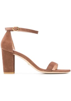 Stuart Weitzman open toe suede sandals