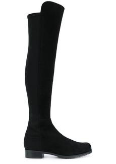 Stuart Weitzman panelled knee boots