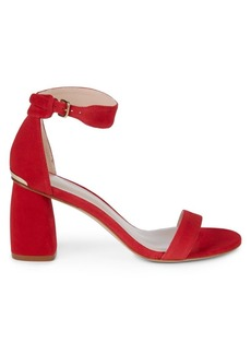 Stuart Weitzman Partly Block Heel Sandals
