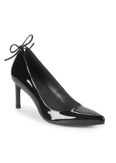 Stuart Weitzman Peekamid Patent Leather Pumps