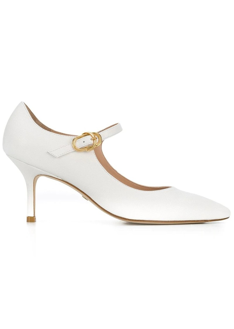 pointed mary-jane pumps