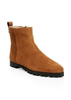 Stuart Weitzman Riley Suede Ankle Boots