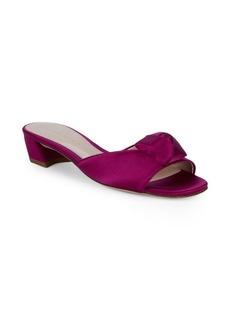 Stuart Weitzman Rosebud Slide Sandals