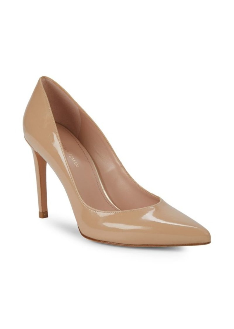 Stuart Weitzman Royal Patent Leather Pumps