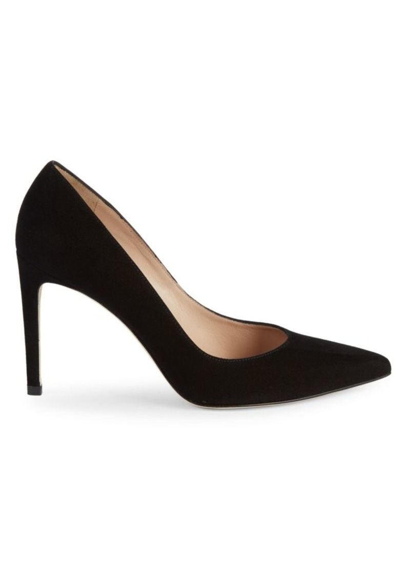 Stuart Weitzman Royal Suede Pumps