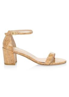 Stuart Weitzman Simple Cork Sandals