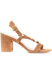Stuart Weitzman slingback leather sandals