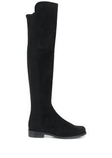 Stuart Weitzman slip-on over-the-knee boots
