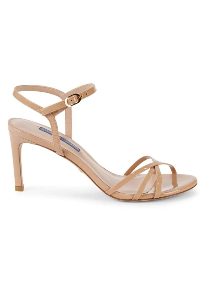 Stuart Weitzman Starla Patent Leather Sandals