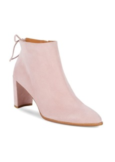 Stuart Weitzman Step Easy Suede Ankle Boots