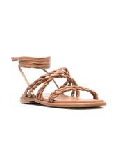 Stuart Weitzman strappy leather sandals
