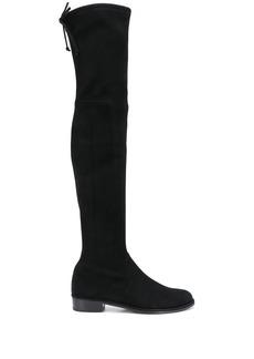 Stuart Weitzman thigh-high low-heel boots
