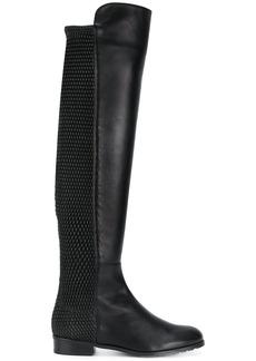 Stuart Weitzman All Good Pelle boots - Black