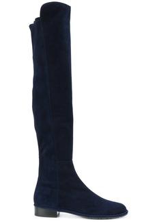 Stuart Weitzman Allgood over the knee boots - Blue