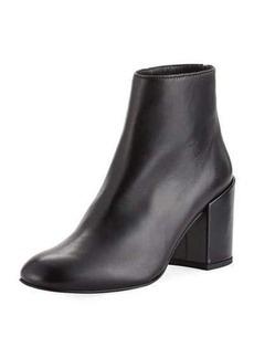 Stuart Weitzman Bacari Leather Ankle Bootie