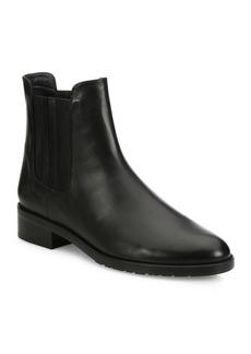Stuart Weitzman Basilico Leather Chelsea Booties
