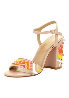 Stuart Weitzman Both Embellished City Sandal
