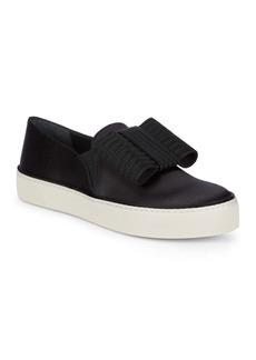 Stuart Weitzman Bow Platform Sneakers