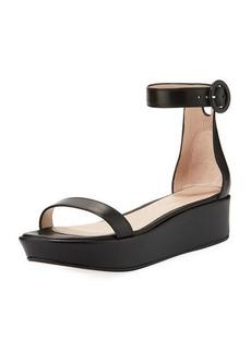 Stuart Weitzman Capri Wedge Platform Sandal