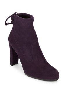 Stuart Weitzman Catch Suede Booties