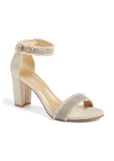 Stuart Weitzman 'Chaingang' Ankle Strap Sandal (Women)