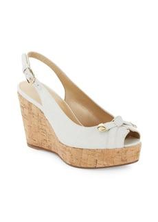 Stuart Weitzman Chatter Platform Wedge Sandals
