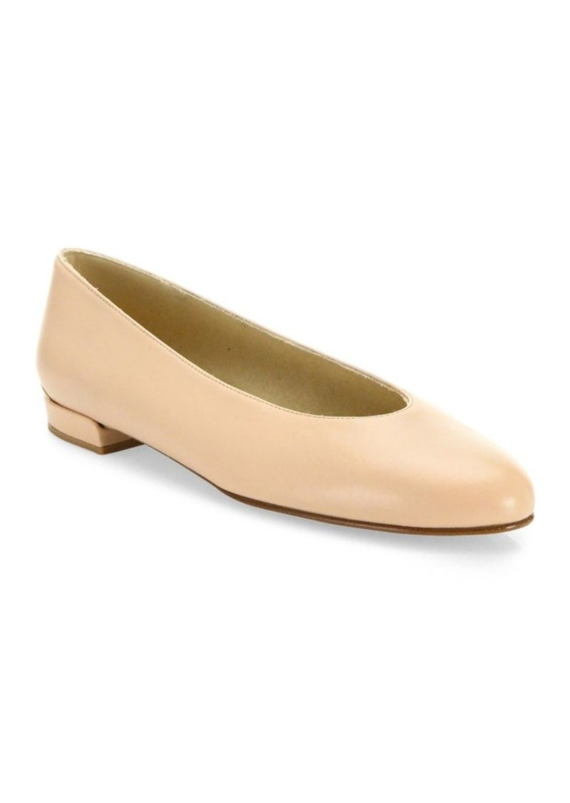 Stuart Weitzman ChicFlat Suede Flats visa payment cheap online clearance for sale 3zmsO