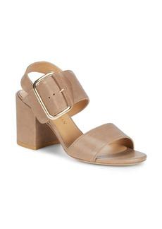 Stuart Weitzman City Leather Sandals